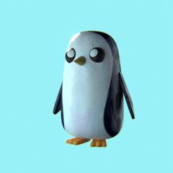 GUNTER2.png Download STL file Gunter Adventure Time • Template to 3D print, anichinidaniel