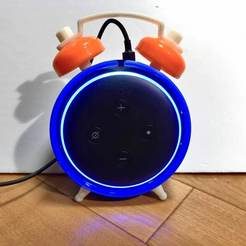 Descargar archivo 3D gratis Amazon Echo dot 3rd Estilo de reloj despertador, tomykijima