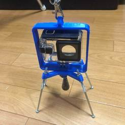 IMG_9023.JPG Download free STL file Action camera hunging stand • Design to 3D print, tomykijima