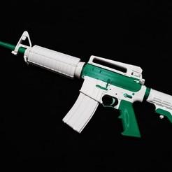 Download STL file M4A1 • 3D printable model, zvc0430