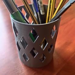 IMG_20191117_150211..jpg Télécharger fichier STL Crayon circulaire avec diamants • Objet à imprimer en 3D, ArquiDocs