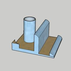 Download free 3D print files Pencil Case and Phone Stand and Mini Note Paper Stand, vodvol