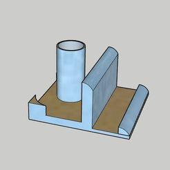 Télécharger plan imprimante 3D gatuit Étui à crayons, support pour téléphone et mini-support pour papier à notes, vodvol