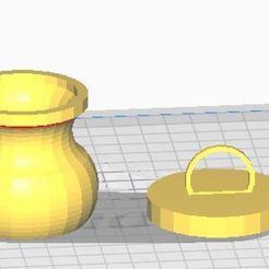Imprimir en 3D gratis Jarrón Mini, vodvol