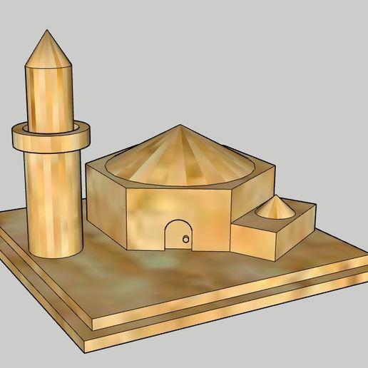 Download free STL file Mosque  • 3D printer design, SinanAydemir