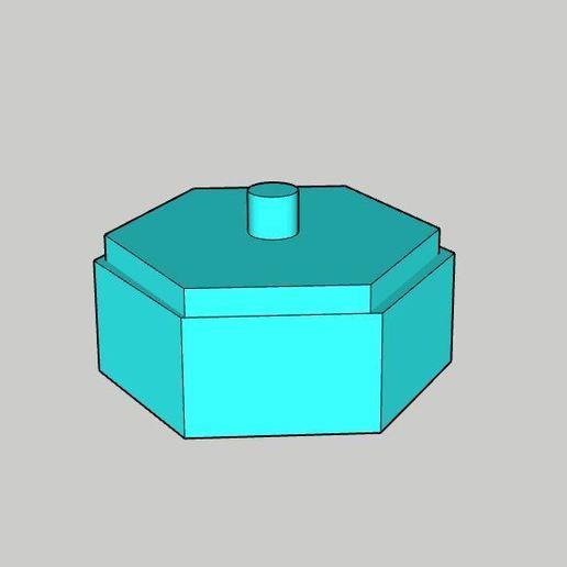 Download free 3D printing files Sugar bowl or spice box , vodvol