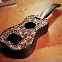 Foto_Main.jpg Download free STL file Escher Ukulele • 3D printer model, agroeningen