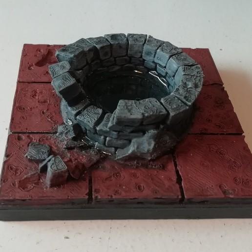 Download free 3D printer designs OpenForge Cut Stone Broken Well, agroeningen