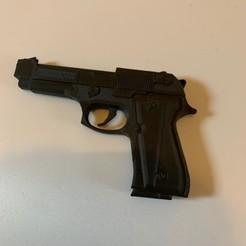 Download free 3D printer designs Beretta M9, Ultipression3D