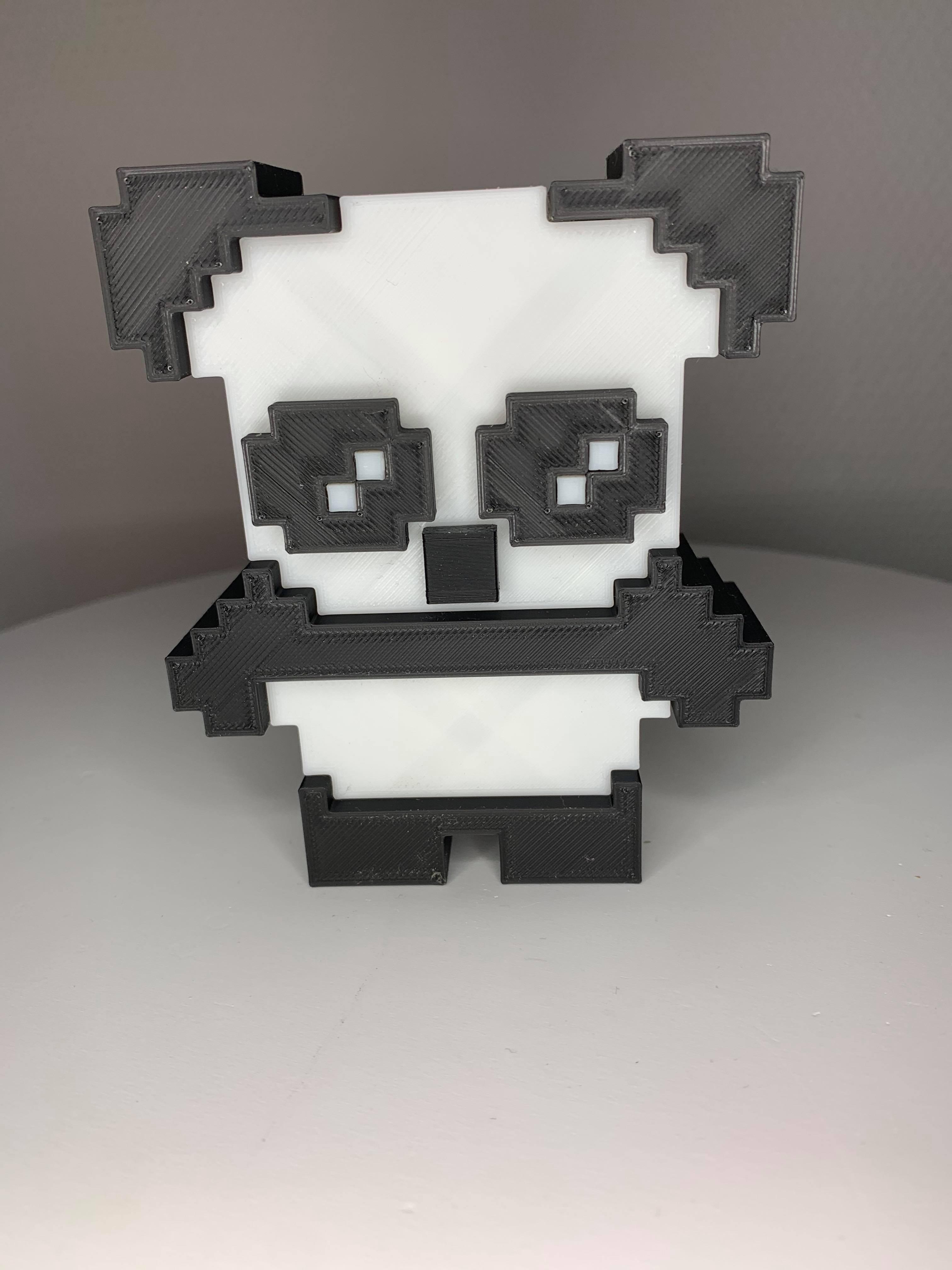 104746956_1163435167367619_831764346686614099_n.jpg Download OBJ file Panda & Keychains • 3D printable template, Ultipression3D