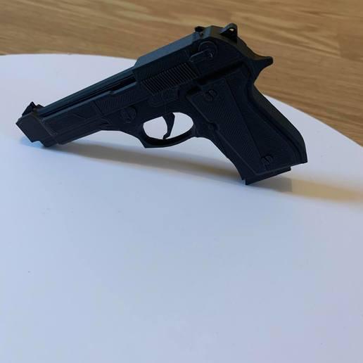 82068935_996561920723001_2254687058205343744_n.jpg Download free STL file Beretta M9 • 3D printing object, Ultipression3D