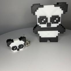 502AF140-79BD-4E74-BB76-65F5368009C0.jpeg Download OBJ file Panda & Keychains • 3D printable template, Ultipression3D