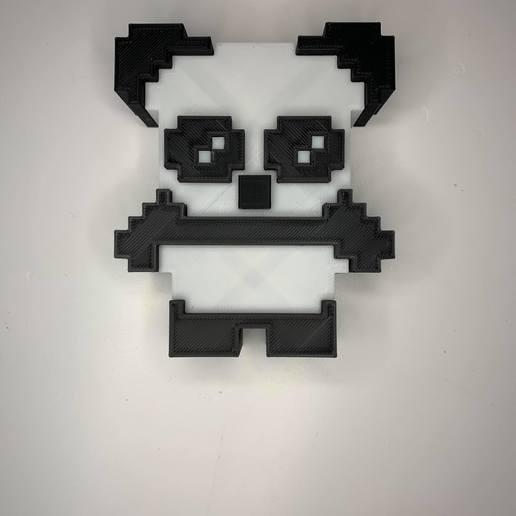 104538669_2078747658916368_7956114306602820429_n.jpg Download OBJ file Panda & Keychains • 3D printable template, Ultipression3D