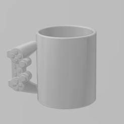 Télécharger plan imprimante 3D gatuit mugs Xbox360 Ps3, MagicCreator