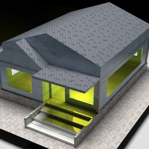 Descargar modelos 3D para imprimir house lamp, diablo3d