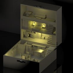 render 2.jpg Télécharger fichier STL Box House • Objet pour imprimante 3D, Diablo3D
