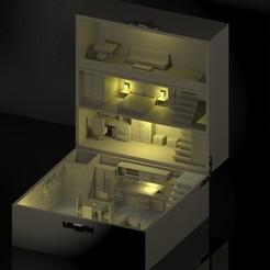 render 2.jpg Download STL file Box House • 3D print design, Diablo3D
