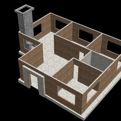 Descargar modelos 3D casa house , diablo3d