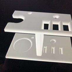 IMG_0204.jpg Télécharger fichier STL Support Rasoir • Objet pour imprimante 3D, tonyboudet