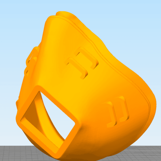 Download free STL file FlexFit Mask Rev 8.1 • Template to 3D print, re3D