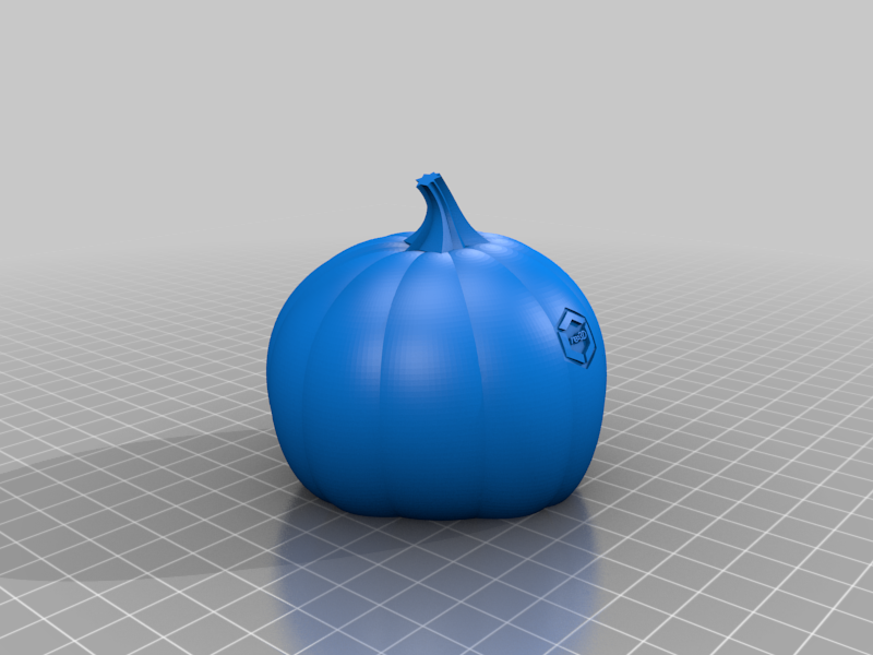 re3d_pumpkin.png Download free STL file GigaPumpkin • 3D printer object, re3D