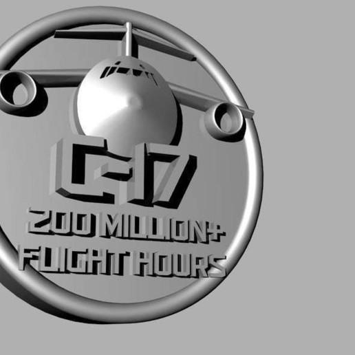 c17_2.jpg Download free STL file C-17 Flight Token • Object to 3D print, re3D