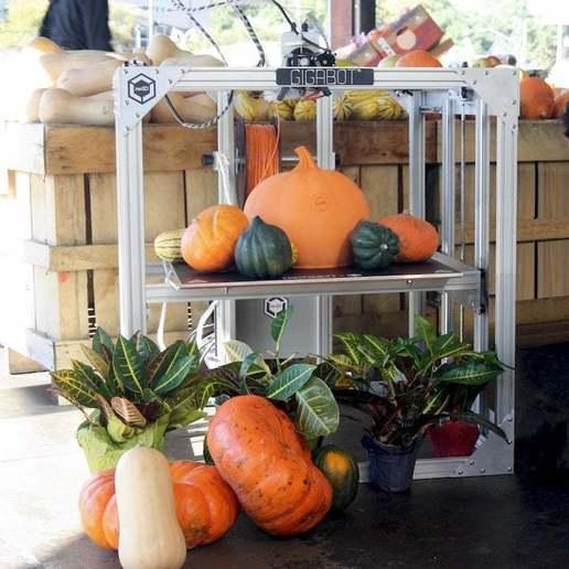 GigaPumpkinSmall.jpg Download free STL file GigaPumpkin • 3D printer object, re3D