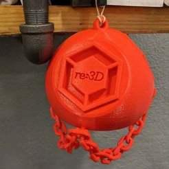 Download free 3D printer model re:3D Holiday Ornament 2019, re3D
