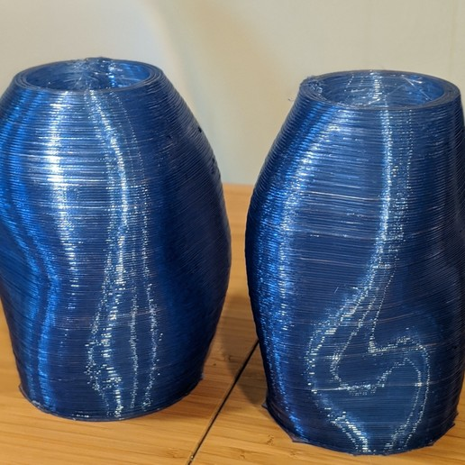 Download free 3D printer designs Water bottles to Vases on GBX, re3D