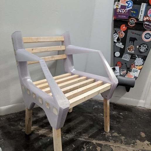 Download free 3D printer designs ReStore Chair 2, re3D