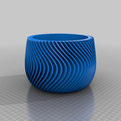 Download free 3D printing files Planter, re3D