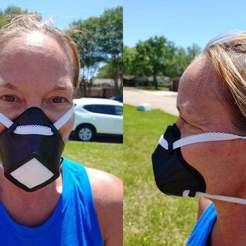 Imprimir en 3D gratis Máscara facial FlexFit (sin soporte), re3D