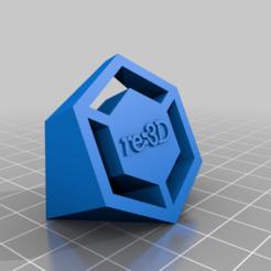 Download free 3D printing templates re:3D 3D Logo, re3D