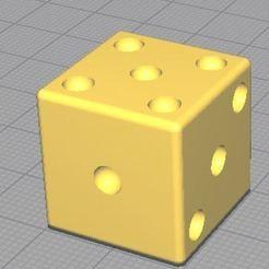 Descargar modelos 3D gratis dés à jouer (punto) / dados para jugar (punto), leoR73