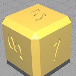 Descargar archivo 3D gratis dés à jouer (chiffre) /dice to play (número), leoR73
