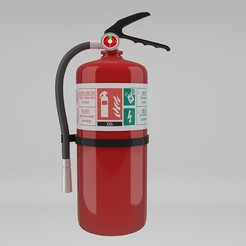 1.jpg Download STL file Fire Extinguisher • 3D printer model, illusioncreators1979
