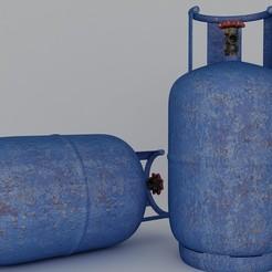 1.jpg Télécharger fichier STL Cylindre à gaz • Objet à imprimer en 3D, illusioncreators1979