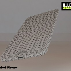 Télécharger modèle 3D Téléphone Andriod, illusioncreators1979