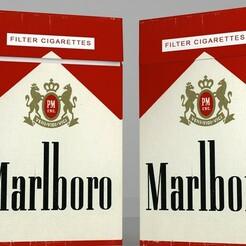 2.jpg Télécharger fichier STL Paquet de cigarettes • Design pour impression 3D, illusioncreators1979