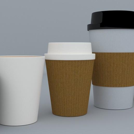 3.jpg Download STL file Coffee Cup • 3D printing template, illusioncreators1979