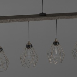 Download 3D printer templates Roof Hanging Lights, illusioncreators1979