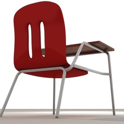 7.jpg Download STL file School Chair • 3D print object, illusioncreators1979
