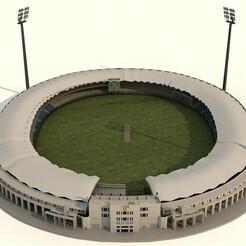 1.jpg Télécharger fichier STL Stade national de cricket • Design pour imprimante 3D, illusioncreators1979