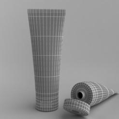Descargar STL Tubo de crema, illusioncreators1979