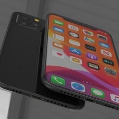 1.jpg Download STL file Phone 11 Pro • 3D printable template, illusioncreators1979