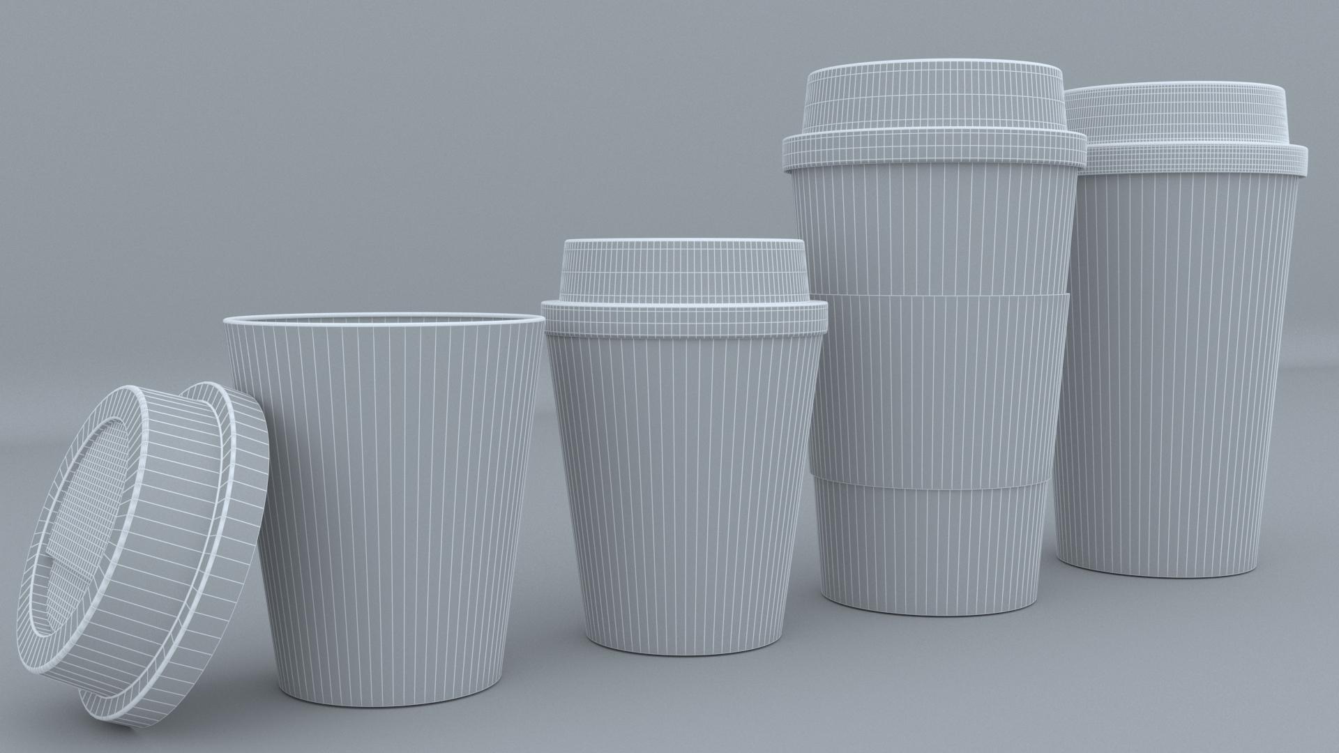 9.jpg Download STL file Coffee Cup • 3D printing template, illusioncreators1979