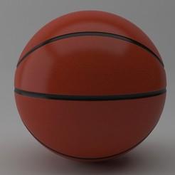 6.jpg Download STL file Basketball • 3D printable template, illusioncreators1979