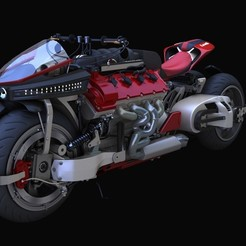 Lazareth Bike.jpg Download STL file Lazareth Bike • 3D printable object, illusioncreators1979