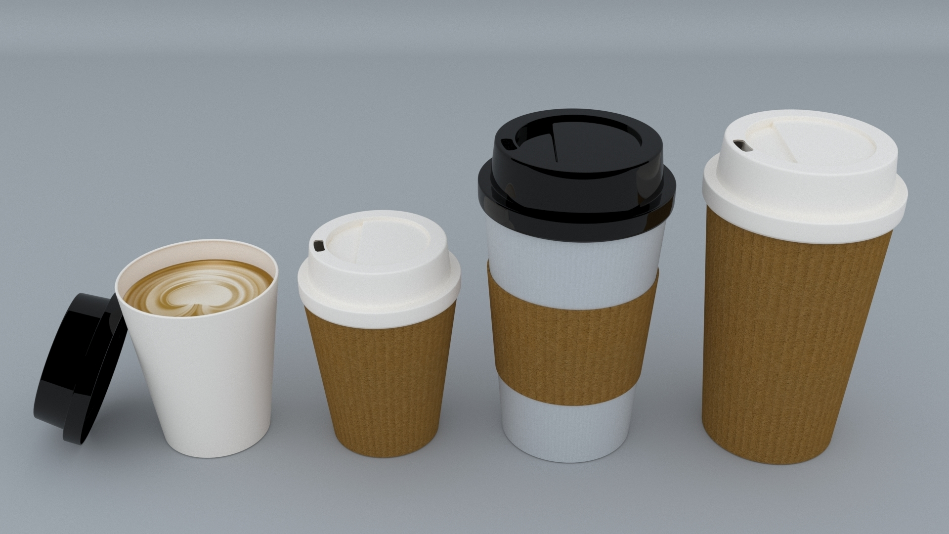 2.jpg Download STL file Coffee Cup • 3D printing template, illusioncreators1979