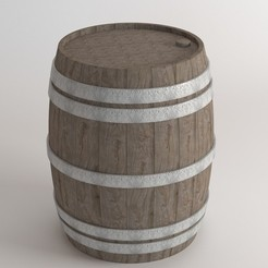 1.jpg Download STL file Barrel • 3D print model, illusioncreators1979